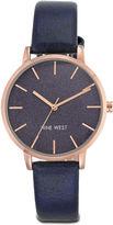 Nine West Lilibeth Black Round Watch