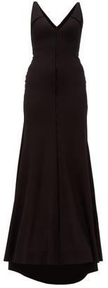 Maria Lucia Hohan Faith Stretch-jersey Maxi Dress - Black