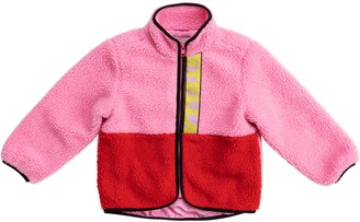 Stella McCartney Colorblock Fleece Teddy Jacket