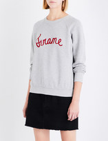 Frame Old school embroidered logo sweatshirt