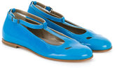 Pépé patent mary janes - kids - Patent Leather/Leather - 31