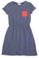 Lacoste Toddler's, Little Girl's & Girl's Striped Slub-Jersey Dress