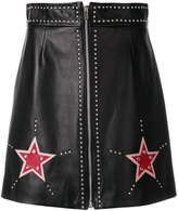 Miu Miu embellished star mini skirt