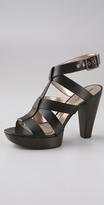 DKNYC Frisk Ankle Strap Platform Sandal