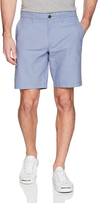"Goodthreads Amazon Brand Men's 9"" Inseam Linen Cotton Short"