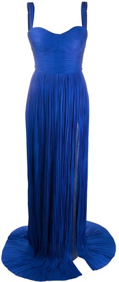 Maria Lucia Hohan silk tulle gown