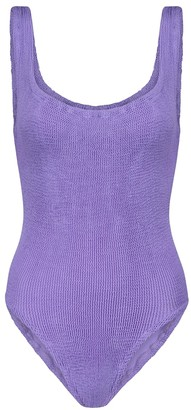 Hunza G Square-neck swimsuit