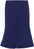 Marni Wool-crepe midi skirt