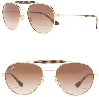 Ray-Ban 50mm Aviator Sunglasses
