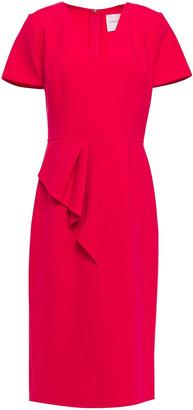 Carolina Herrera Draped Cady Dress