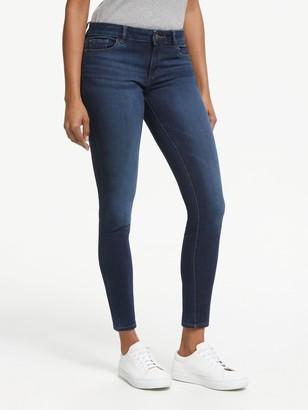 DL1961 Florence Mid Rise Skinny Jeans, Warner