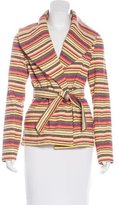 Tibi Tweed Belted Jacket