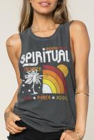 Spiritual Gangster Rainbow Sunset Tank