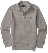 Ralph Lauren Waffle-Knit Cotton Pullover