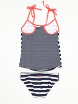 Roxy Girls 7-14 Clan Tankini Set