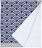 New Arrivals Inc. New Arrivals Hampton Bay Crib Blanket-Navy & Gray