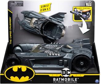 Spin Master Toys Batman Batmobile Batboat 2-in-1 Transforming Vehicle Set