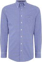 Gant Poplin Gingham Long Sleeve Shirt