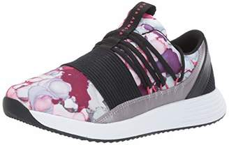 Under Armour Women's Breathe Lace + Running Shoes, Black/Metallic Sepia/Impulse Pink 001, 7 (41 EU)
