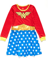 Intimo Wonder Woman Roller Derby Nightgown - Toddler