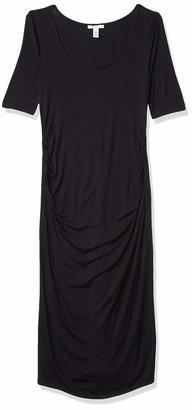Daily Ritual Amazon Brand Women's Maternity Short Sleeve Dress