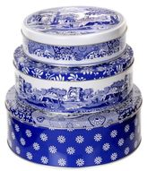 Spode Blue Italian Nesting Cake Tins (Set of 3)