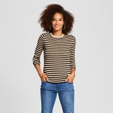 Who What Wear Women's Split Cuff Crew Sweater