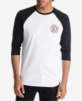 Quiksilver Men's Kool Shapes Raglan-Sleeve T-Shirt
