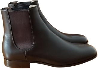 Gianvito Rossi Brown Leather Boots