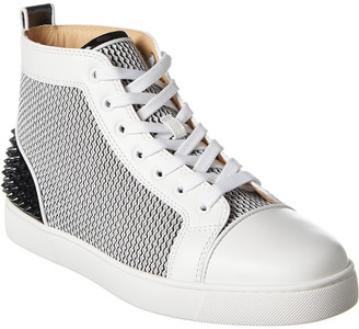 Christian Louboutin Spikes Leather Sneaker