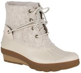 Sperry Women's Saltwater Wedge Tide Wool Ankle Boots