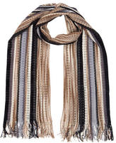 Missoni Open Knit Wool Scarf
