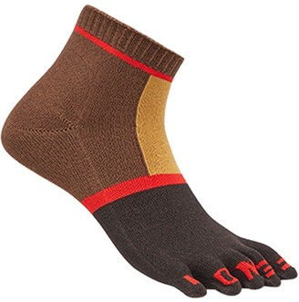 Fendi Short Colour Block Socks