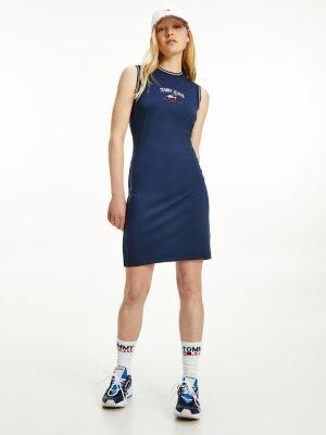 Tommy Hilfiger Signature Sleeveless T-Shirt Dress
