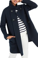 Madewell Women's City Grid Double Breasted Coat