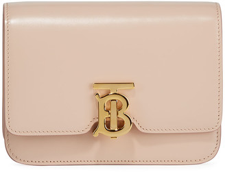Burberry Mini TB Leather Crossbody Bag