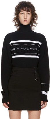 Alyx Black Logo Turtleneck
