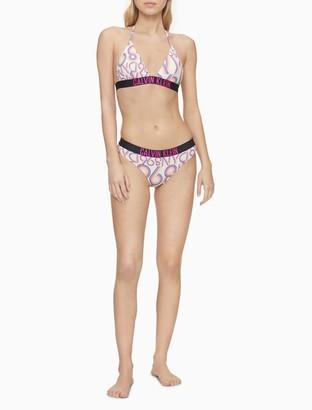 Calvin Klein NYC 1968 Triangle Bikini Top