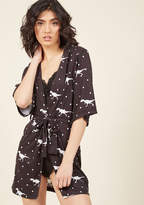 ModCloth Rex and Relaxation Robe in L/XL