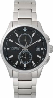 Nautica Men's LISBONA Quartz Watch with Stainless-Steel Strap