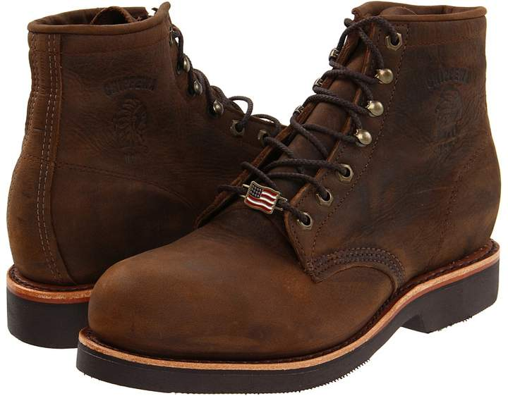 Chippewa 6 Apache Steel Toe Lace Up Men's Work Boots