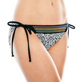 L'amour LAmour by Nanette Lepore Embroidered Hipster Swim Bottoms - Juniors