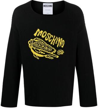 Moschino Rocket-Print Jumper