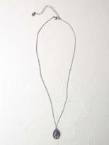White Stuff Souvenir pendant necklace