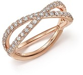 Bloomingdale's Diamond Midi Ring in 14K Rose Gold, .35 ct. t.w. - 100% Exclusive