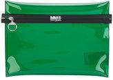 MM6 MAISON MARGIELA contrast clutch