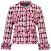 Moschino embroidered blazer