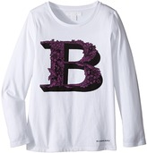 Burberry Graphic Long Sleeve Top Girl's Long Sleeve Pullover
