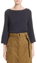 Lafayette 148 New York Women's Bicolor A-Line Sweater