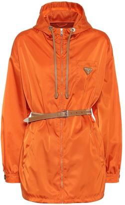 Prada Belted nylon jacket